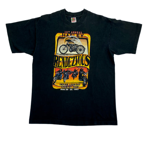 1997 Harley Rendezvous T-Shirt (XL)