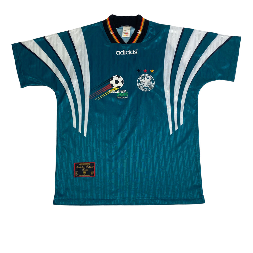 1996 Germany Away Adidas Football Shirt (M-L)