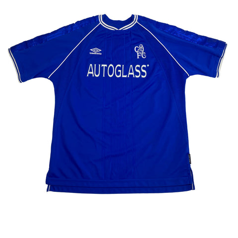 1999/00 Chelsea Home Umbro Football Shirt (XL)
