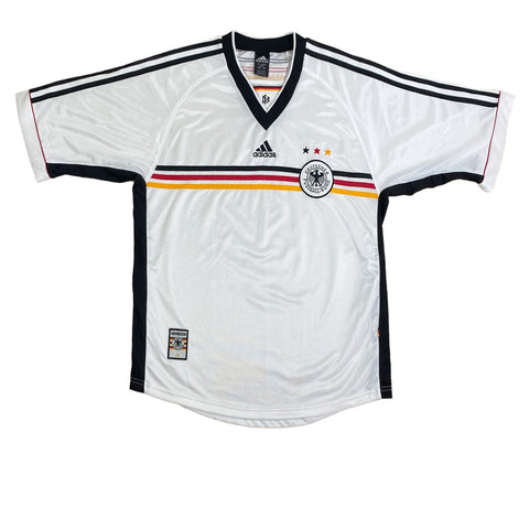 1998/00 Germany Home Adidas Football Jersey (XL)