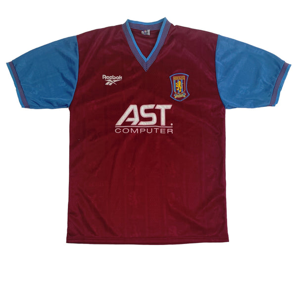 1997/98 Aston Villa Home Reebok Football Shirt (XL)