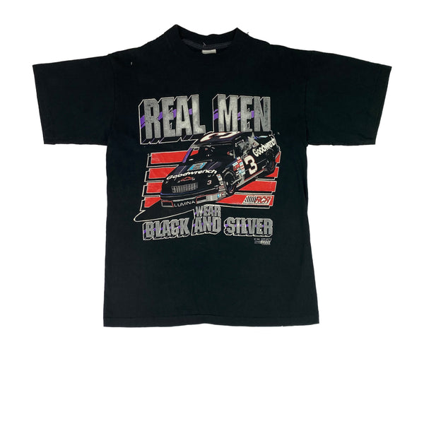 1991 NASCAR Real Men T-Shirt (L)