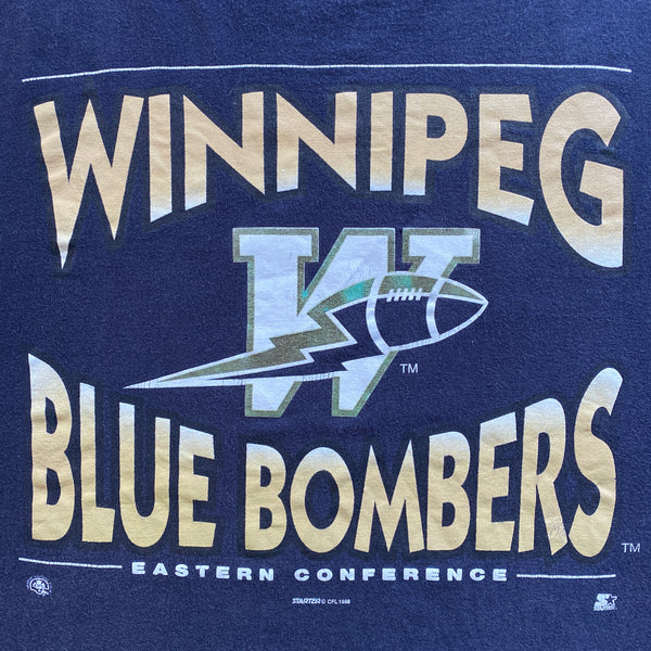 1998 Starter Winnipeg Blue Bombers T-Shirt