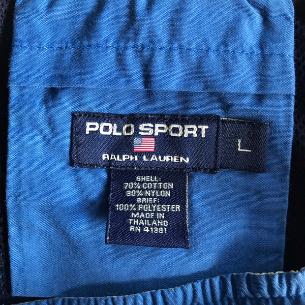 Polo Sport Blue Shorts