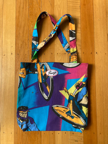 Percy's Action Man Reversible Tote Bag