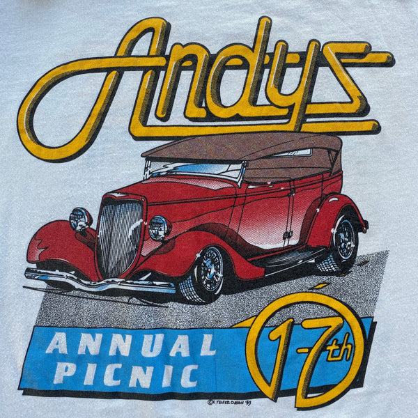 1983 Andy's Annual Picnic T-Shirt