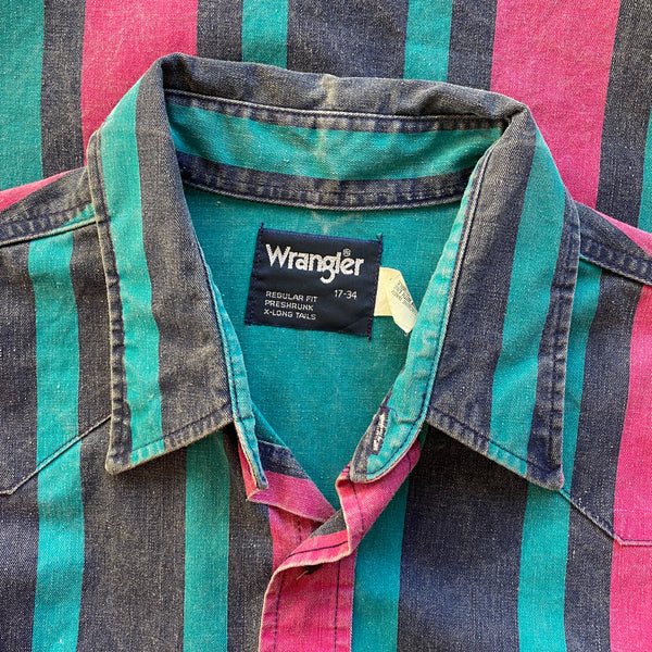 1990s Wrangler Western Buttondown
