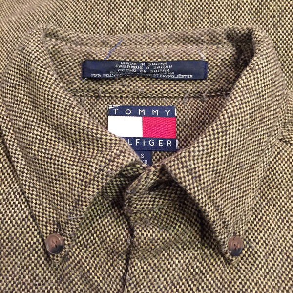 Tommy Hilfiger Flecked Wool Shirt