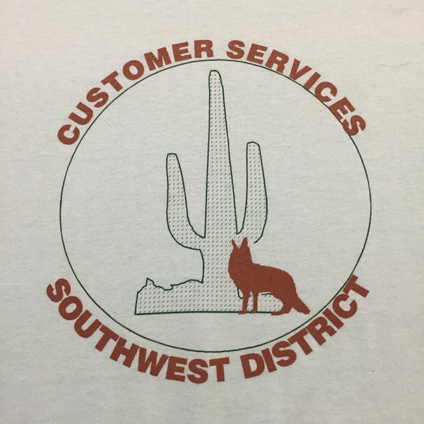1990s Customer Services Southwest Division T-Shirt (Deadstock)