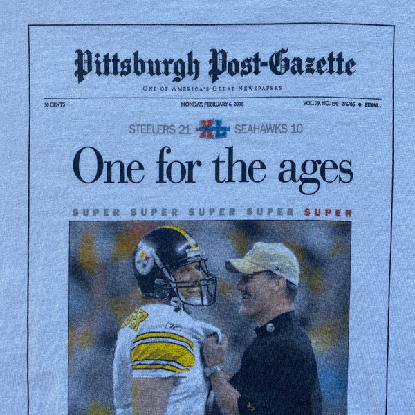 2006 Pittsburgh Steelers T-Shirt (XL)