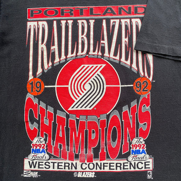 1992 Portland Trailblazers NBA T-Shirt