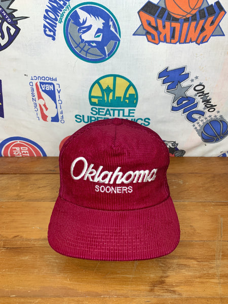 Corduroy Oklahoma Sooners Sports Specialties Hat