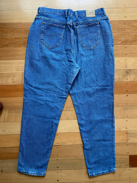 Lee Stone Wash Blue Denim Jeans
