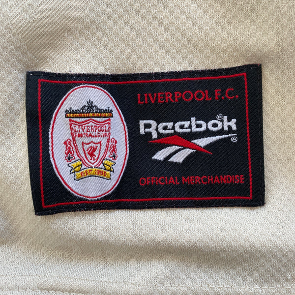 1996/7 Liverpool Away Reebok Football Shirt (M-L)