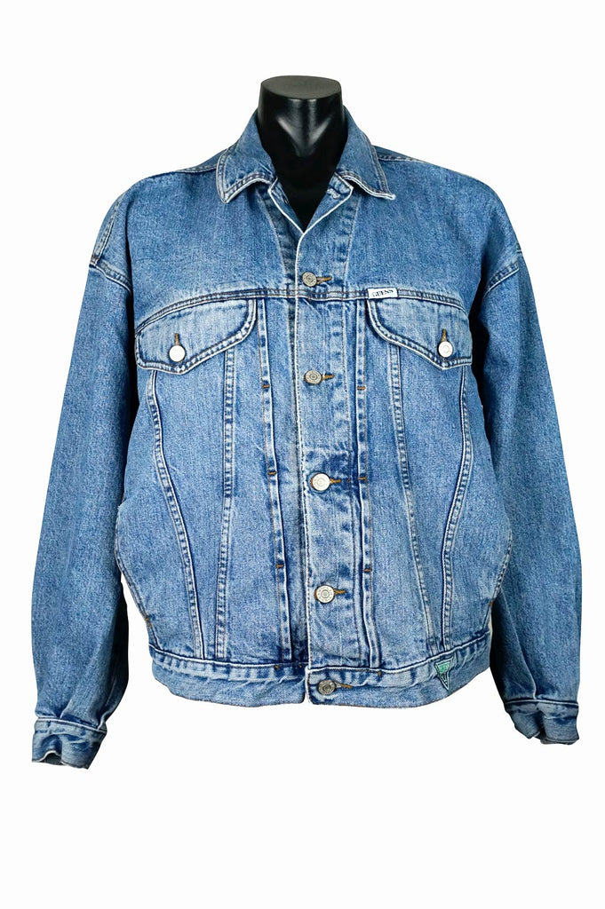 f541e8206edda 90s Vintage Guess Denim Jacket – Percy s Vintage and Collectibles