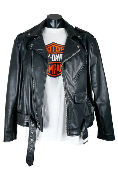 Classic Leather Motorcycle Jacket