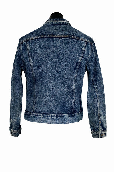 1980's Lee Acid Wash Denim Jacket