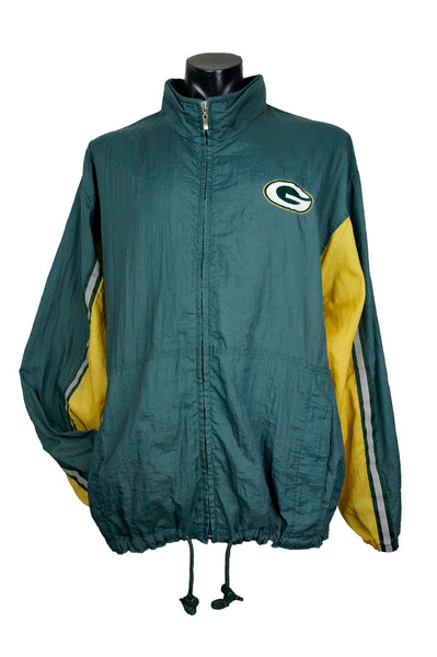 1990s Logo Athletic Green Bay Packers Jacket