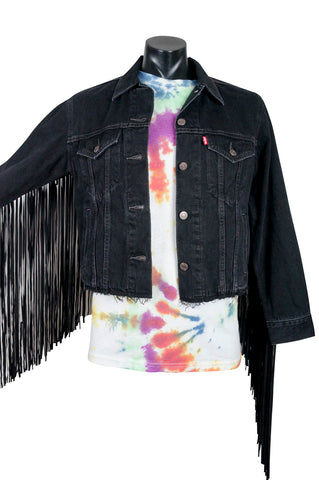 Levi's Big E Tasselled Denim Jacket