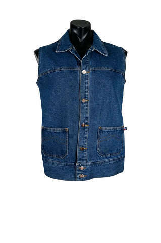 1990s Hero Denim Vest