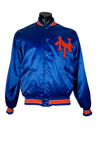 1986 New York Mets Felco Satin Bomber Jacket