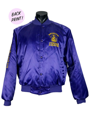 1985 Purple Pirates Team Jacket
