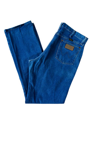 Wrangler Mid-Blue Denim Jeans