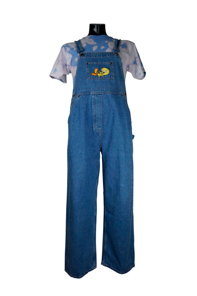 1990s Tweety Bird Overalls