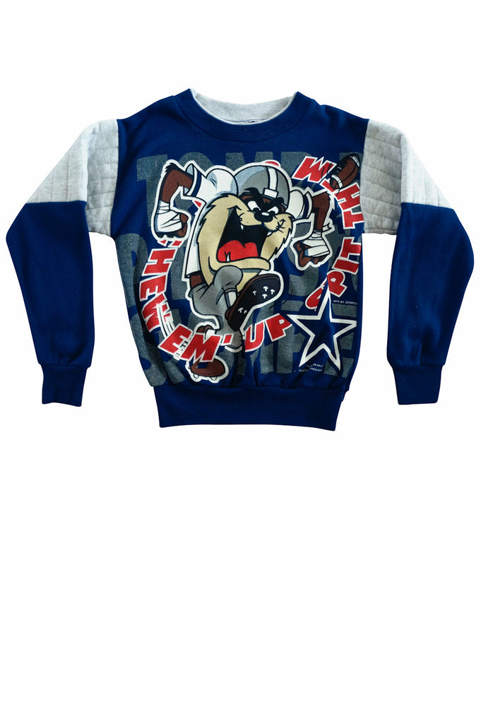 6a1c2127 Kids Dallas Cowboys Taz Crewneck