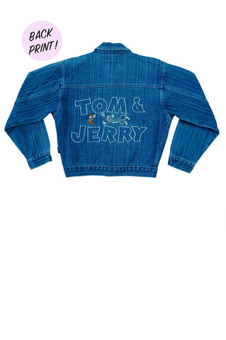 Kids Tom & Jerry Denim Jacket