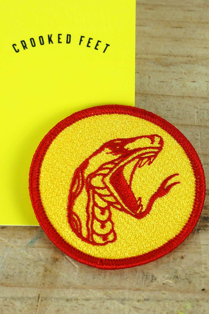 Embroidered Patch - Charmed Snake
