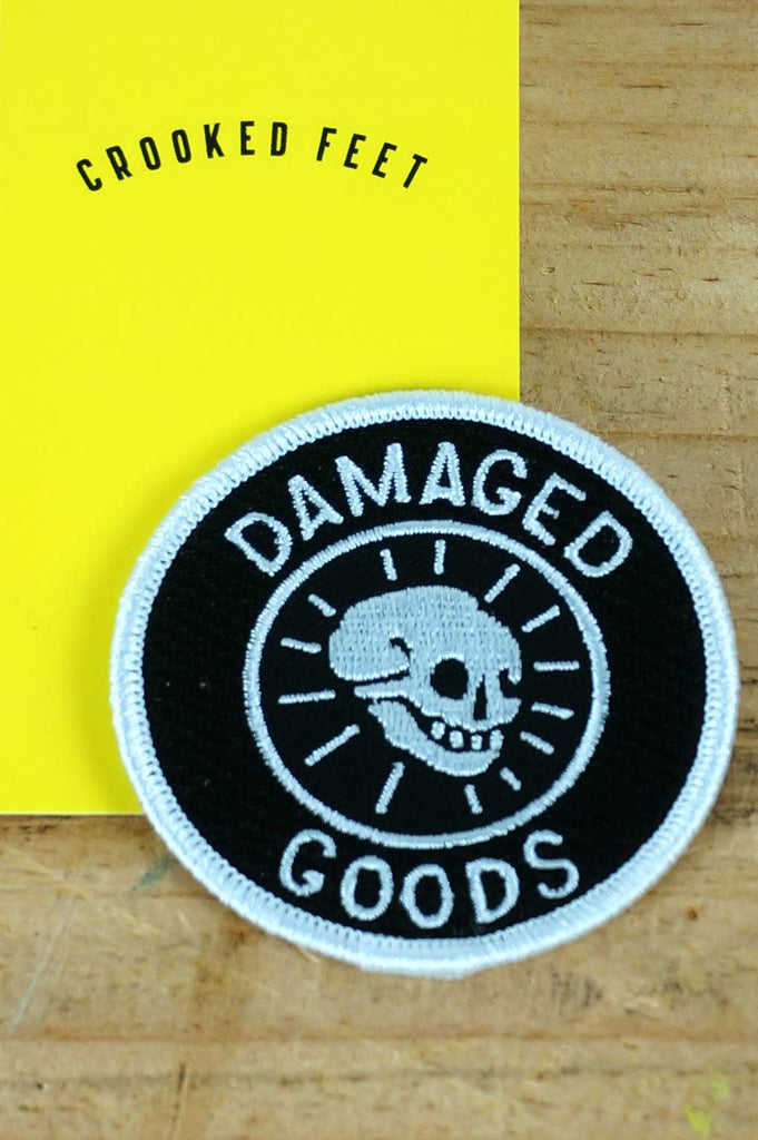 Embroidered Patch - Damaged Goods