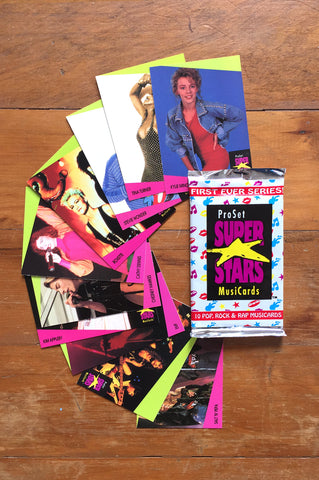 1991 Super Stars Music Trading Cards (UK Edition)
