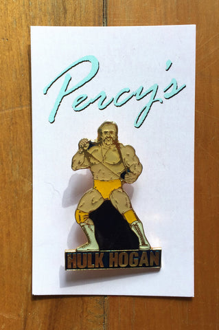 Percy's Vintage Pin - Hulk Hogan