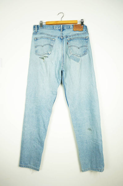 Levi's 501 Patch Work Jeans