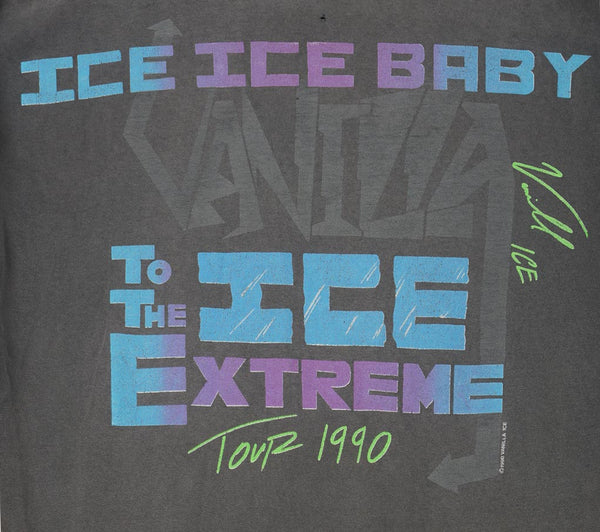 Vanilla Ice 1990 Tour T-Shirt