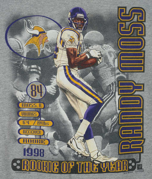Randy Moss Rookie Of The Year 1998 T-Shirt