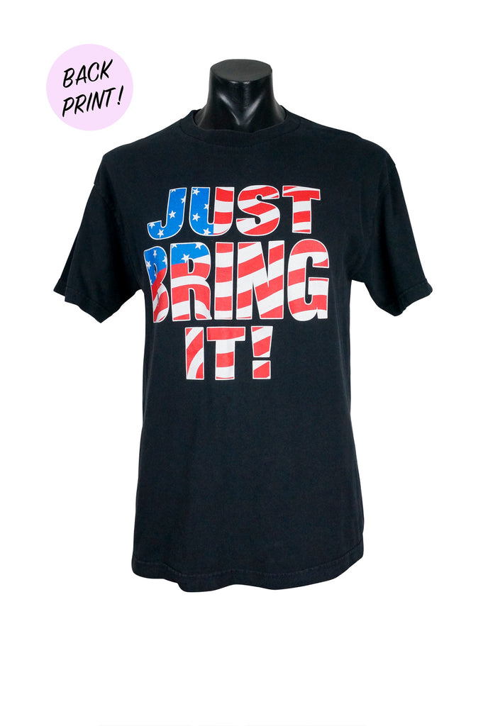 2001 The Rock Just Bring It WWF T-Shirt