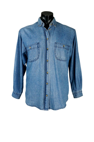 1990s Denim Buttondown Shirt