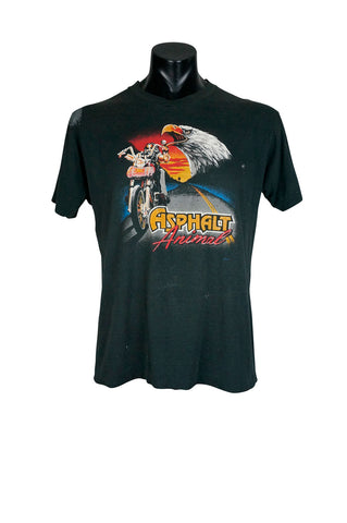 1980s Asphalt Animal Biker T-Shirt