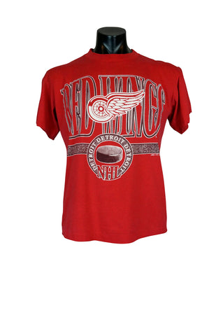 1992 Detroit Redwings NHL T-Shirt