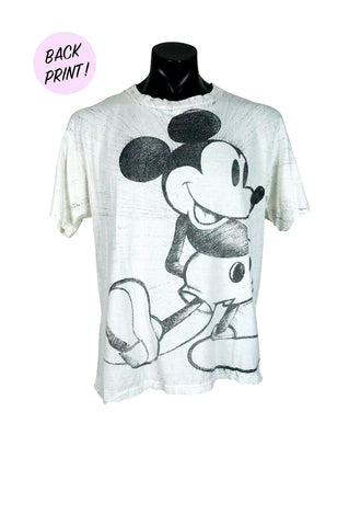 1990s Mickey Mouse All Over Print T-Shirt
