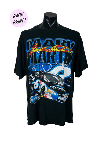 Mark Martin Huge NASCAR Print T-Shirt