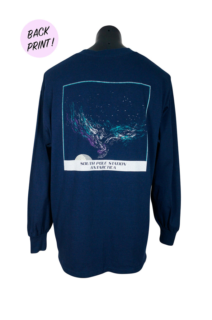 South Pole Station Antarctica Long Sleeve