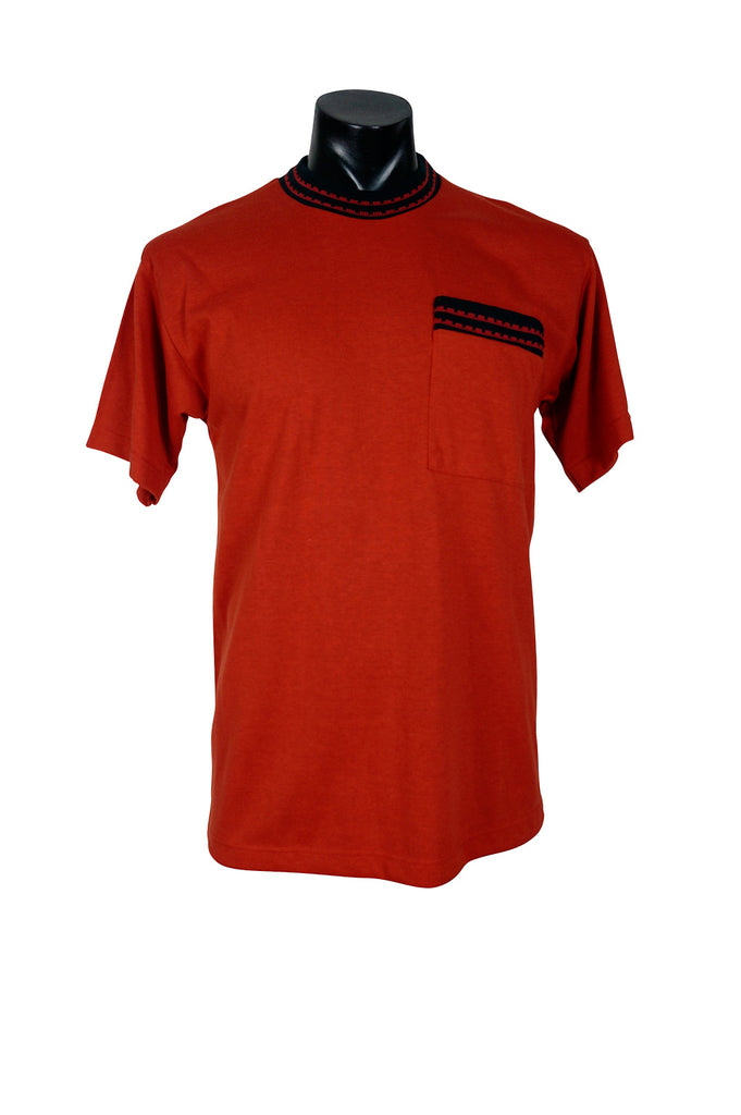 1990s Orange Pocket T-Shirt