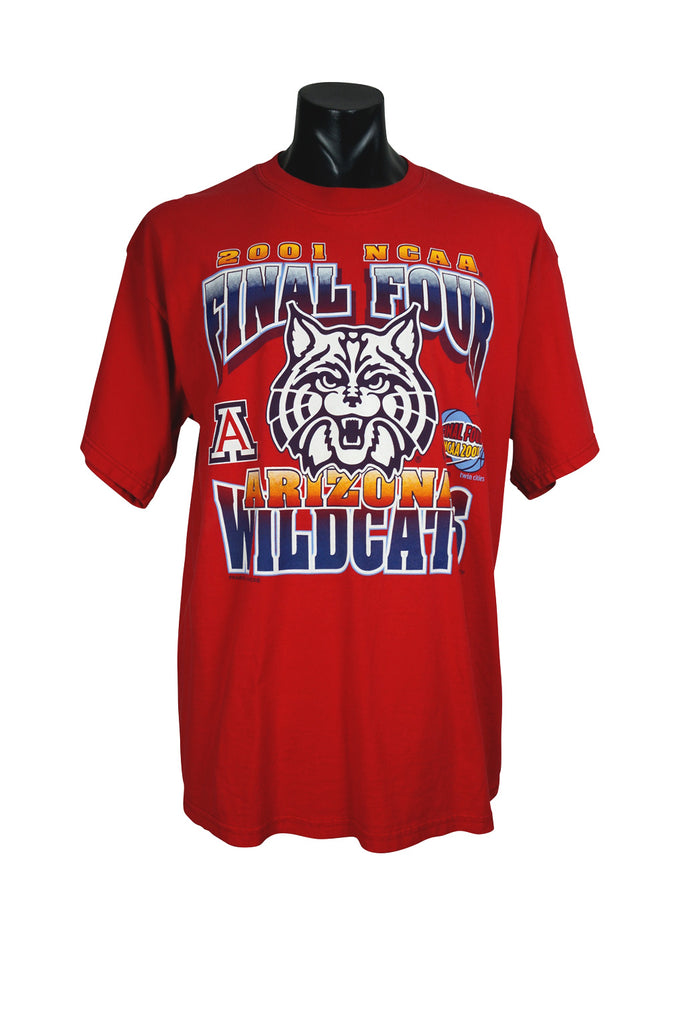 2001 Arizona Wildcats NCAA T-Shirt