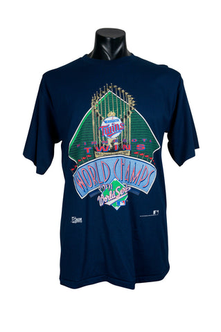 1991 Minnesota Twins World Series MLB T-Shirt
