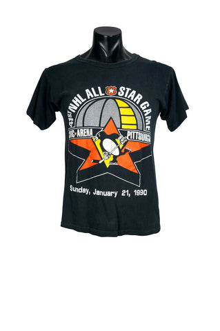 1990 Starter Pittsburgh Penguins NHL T-Shirt