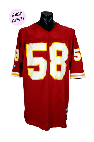 1990s Derek Thomas Kansas City Chiefs Champion NFL Jersey