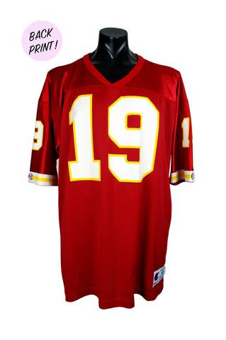 1994 Montana Kansas City Chiefs Champion 48 NFL Jersey